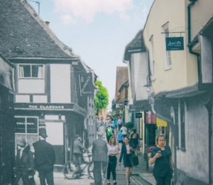 Photographer Xavier Marseille merges 'old' and 'new' photo's of Essex and goes viral on social media!